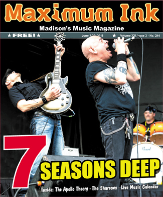 7 Seasons Deep - Jayme Poster on guitar and Shawn Anthony Brown on Vox - photo by David Luciano