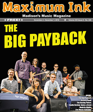 The Big Payback on the cover of Maximum Ink music magazine