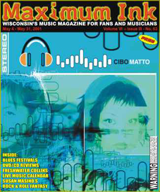 Japan's Cibo Matto on the cover of Maximum Ink in May 2001
