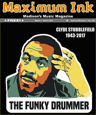 The Funky Drummer Clyde Stubblefield 1943-2017 - artwork by Cody Banks