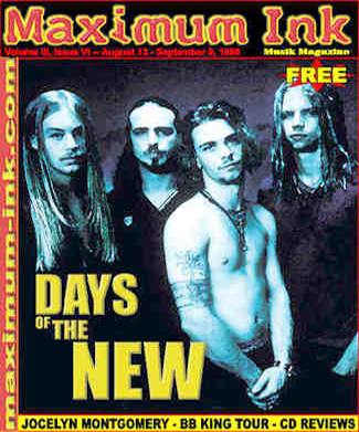 Days Of The New on the cover of Maximum Ink