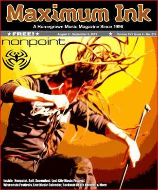 Nonpoint on the cover August 2013