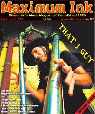 That One Guy on the cover of Maximum Ink in May 2008