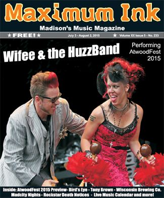 Wifee and the HuzzBand performing AtwoodFest on Saturday, July 25