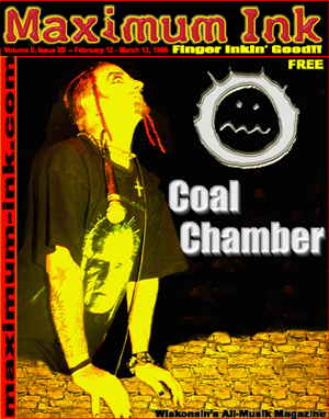 Coal Chamber on the cover of Maximum Ink in February 1998
