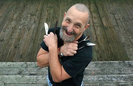 Artis the Spoonman (courtesy Facebook)
