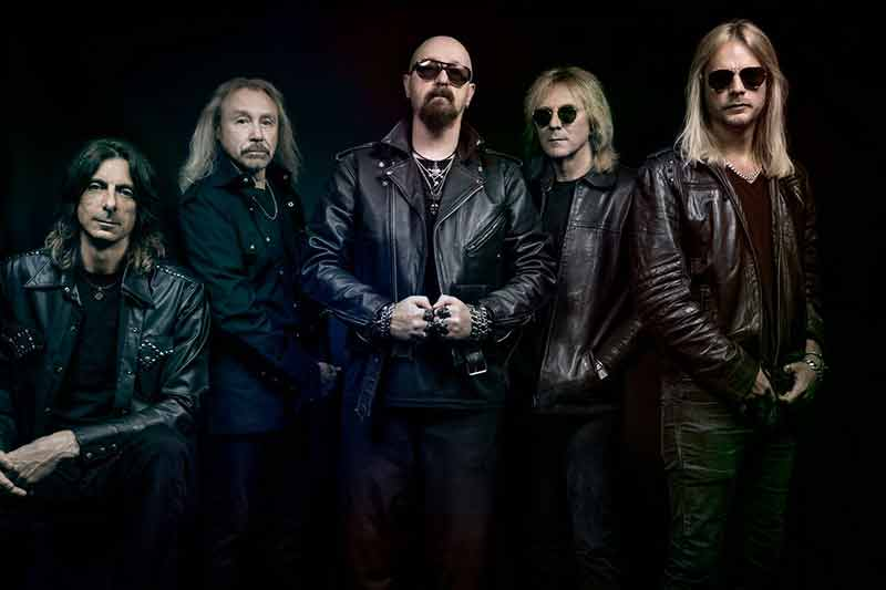 Judas Priest circa 2018