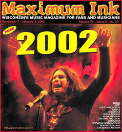 Ozzy on the cover of Maximum Ink in December 2001 - photo by Paul Gargano