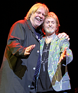 Rick Wakeman and Jon Anderson