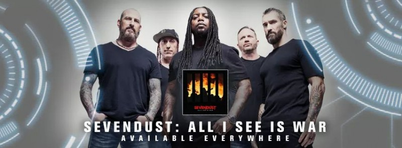 Sevendust's All I See Is War