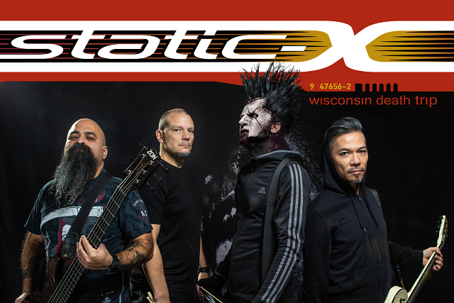 Static-X 2019 Wisconsin Death Trip - photo by Matt Zane