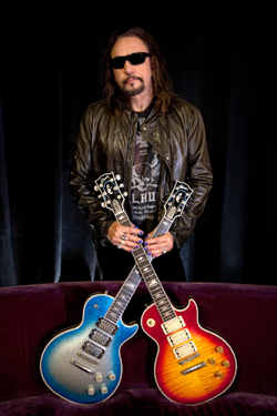 Ace Frehley - photo by Kevin Britton