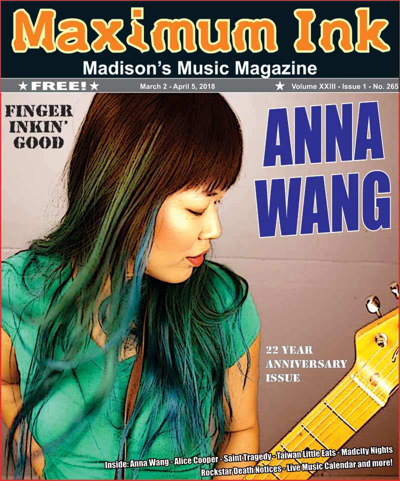 Madcity's own Anna Wang - photo by Anna Wang