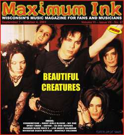 Beautiful Creatures, the band on the cover during 9/11, September 2001