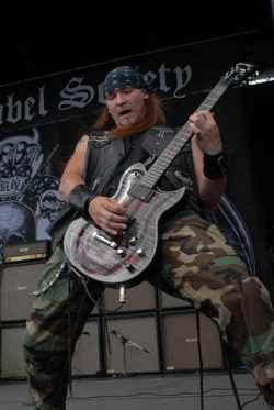 Black Label Society's Nick Catanese - photo by Andrew Gargano