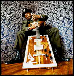 Bo Diddley, the legendary Hall of Famer speaks with Brett Lemke