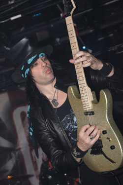 Stacey Blades - guitarist for L.A. Guns