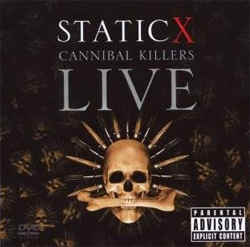 Static X - Cannibal Killers Live DVD/CD