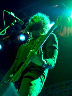 Mastodon at the Orpheum in Madison, WI - photo by Clayton Dewey