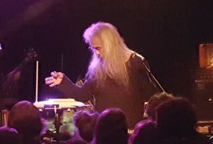 Kawabata Makoto if Acid Mothers Temple playing at the Frequency in Madison on 3/29 - photo by Andrew Frey