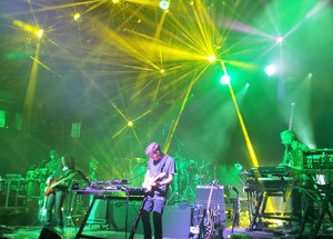 STS9 at Orpheum Theater in Madison, WI on 10/23 - photo by Andrew Frey