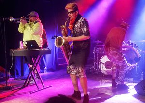 Too Many Zooz at the Majestic Theater  - photo by Andrew Frey