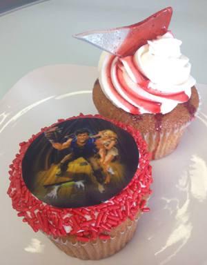 Evil Dead Rokker Cupcakes