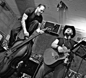 Paul Scharlau & Brian Smith of God's Outlaw - photo by Richard Perez