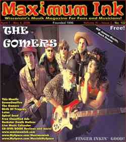 Madison's The Gomers on the cover of Maximum Ink in April 2006