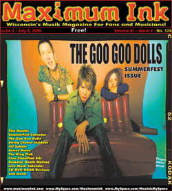 The Goo Goo Dolls on the cover of Maximum Ink in June 2006
