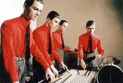 Germany's Kraftwerk in Maximum Ink in April 2008