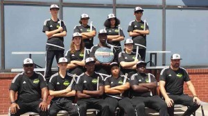 Black Star Drumline at Drum Corps International DrumLine battle in Indianapolis, IN