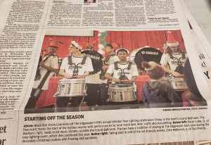 Nikko & Black Star Drumline make the Wisconsin State Journal