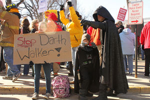 Darth Walker, Mini-Vader, Lizzie & Allison Rocker