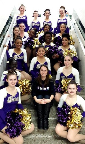 Madison East Poms Team 2015