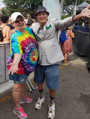 Mama and Papa Rökker enjoying AtwoodFest 2019 - photo by Cynthia Shields