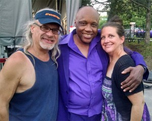 Rökker, Sonny Knight, and Teri Barr backstage at Atwoodfest 2016
