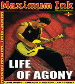 Life Of Agony on the cover of Maximum Ink May 1998 - photo by Paul Gargano