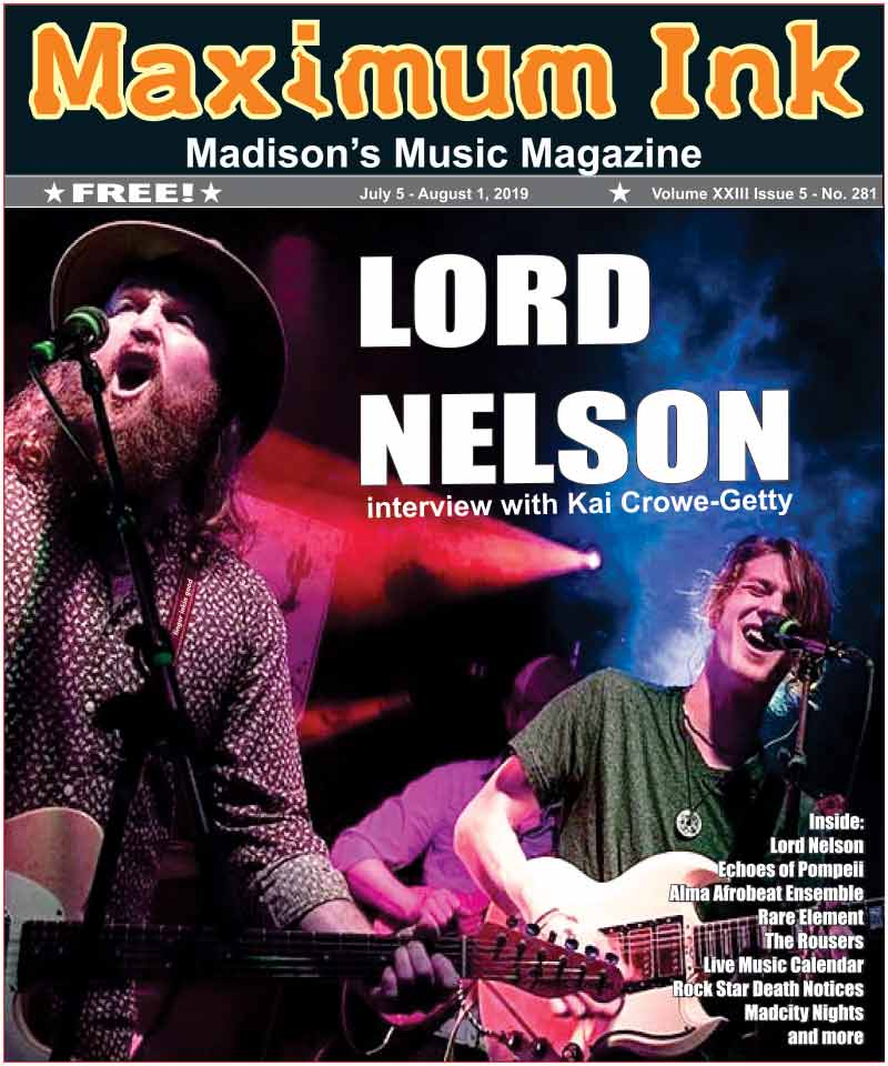 Virginia's Blue Ridge Mountain rock band Lord Nelson