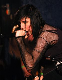 Mary Zimmer of Luna Mortis - photo by Matt Mommaerts