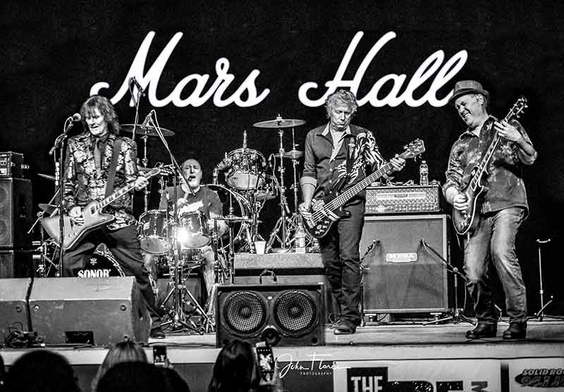 Madcity's group of rock vets, Mars Hall