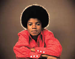 Michael Jackson of The Jackson Five