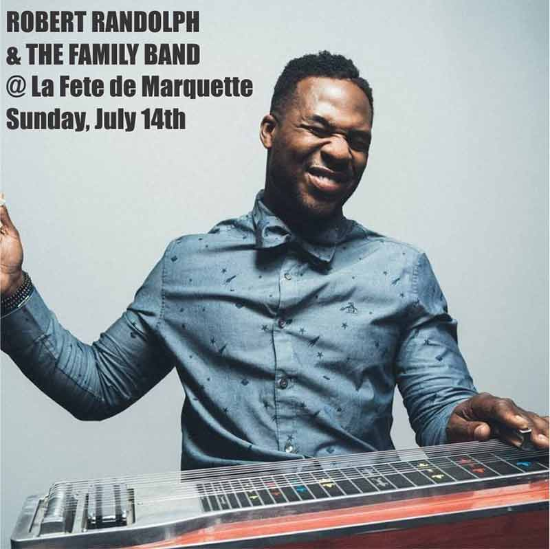 Robert Randolph and the Family Band come to La Fete de Marqette