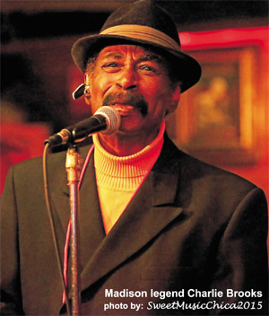 Madison legend Charlie Brooks - photo by Sweet Music Chica
