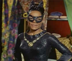 EArtha Kitt, played Batman's Catwoman among many of her triumphs