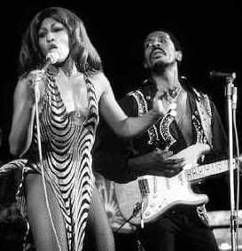 Ike Turner with Tina in the 1960's