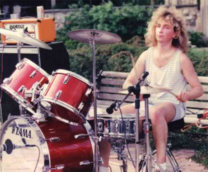 Mike Stoiber playing with the Casual Tease circa mid 80's