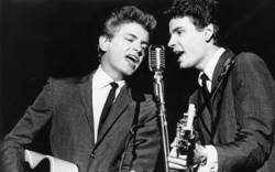 Phil Everly, with brother Don, circa 1960