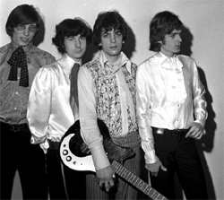 Early Pink Floyd featuring Rick Wright (far right)