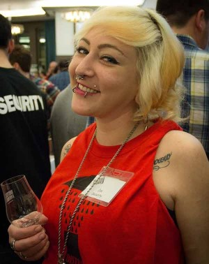 Star Liquor's Valerie Zelinski Kittel at Distill America 2016. RIP